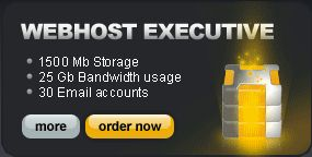 Webhost Plus Plan - 1000 Mb Storage - 20 Gb Bandwidth usage - 20 Email accounts